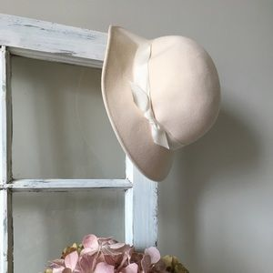 Vintage Bollman & Sons Doeskin Wool hat s…